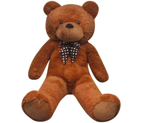 XXL Soft Plush Teddy Bear Toy Brown 175 cm[3/5]