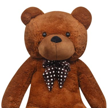 XXL Soft Plush Teddy Bear Toy Brown 175 cm[4/5]