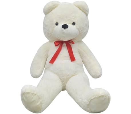 XXL Plišasta igrača medvedek bele barve 175 cm[2/5]