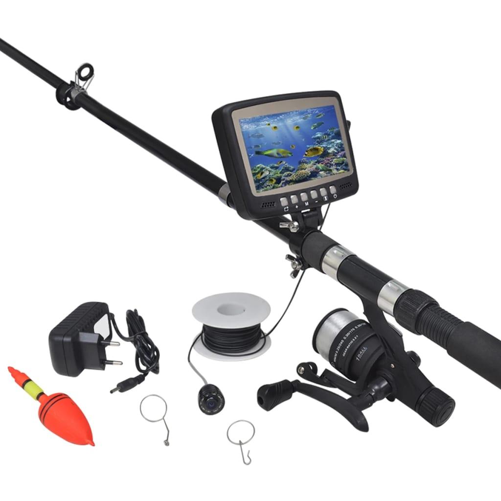 """Podvodní rybářská kamera s 4,3"""" monitorem"""