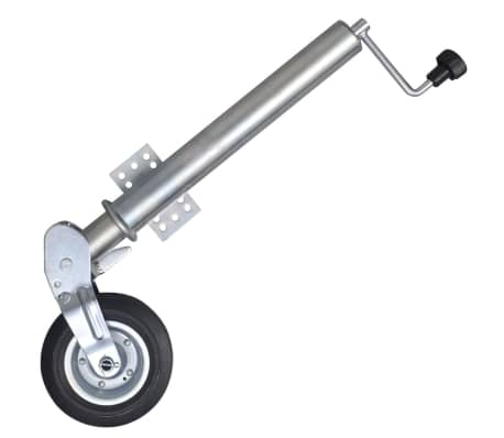 """vidaXL 2.4"""" Heavy-duty Folding Jockey Wheel[1/4]"""