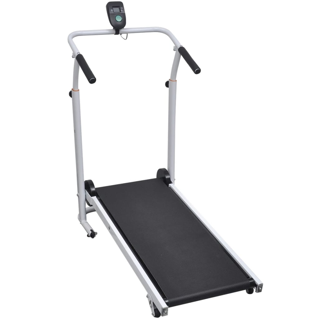 9990884 Faltbares Mini Laufband Fitnessgerät 93 x 36 cm schwarz
