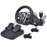 Gaming Racing Wheel for PS2/PS3/PC Black
