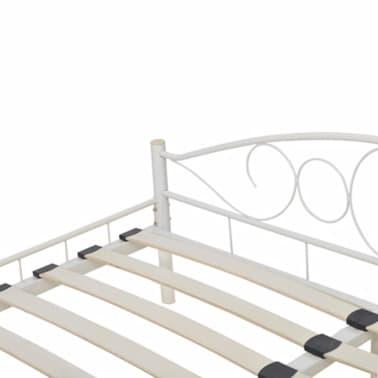 acheter lit courbe en acier enduit de poudre 180 x 200 cm. Black Bedroom Furniture Sets. Home Design Ideas