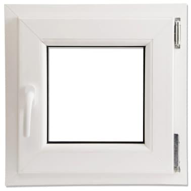 dreifach verglast pvc drehkippfenster griff linke seite 500x500mm zum schn ppchenpreis. Black Bedroom Furniture Sets. Home Design Ideas
