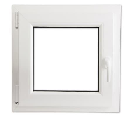 Finestra anta ribalta pvc triplo vetro manico a destra 600 x 600 mm - Finestra anta ribalta ...