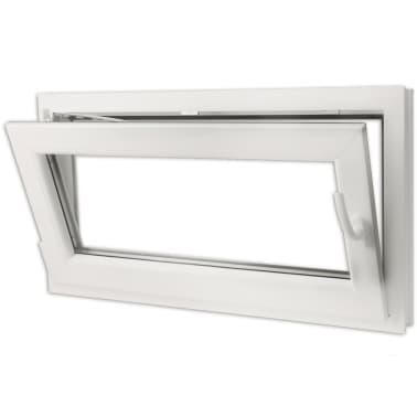 janela oscilobatente pvc com punho direito e vidro triplo 900x500 mm. Black Bedroom Furniture Sets. Home Design Ideas