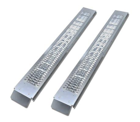 vidaXL 2 Čelične Rampe za Tovarenje Robe 450 kg[1/6]