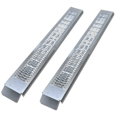 vidaXL lasterampe stål 450 kg 2 stk.[1/6]