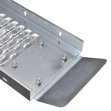 vidaXL 2 Čelične Rampe za Tovarenje Robe 450 kg[4/6]