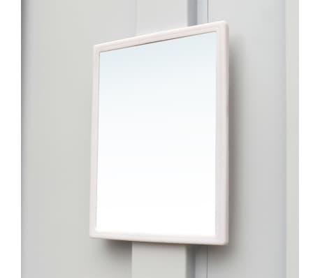 vidaXL Locker Cabinet 9 Doors Gray Metal[5/6]