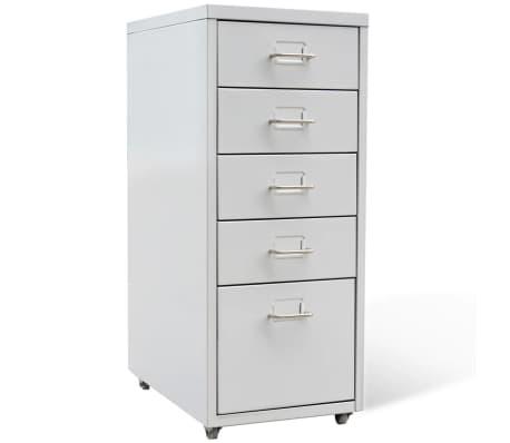 Metal Filing Cabinet Drawer Unit Freestanding Storage Office Bedroom  Organizer✓ 8718475937951 | EBay