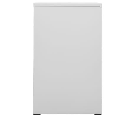 vidaXL File Cabinet with 3 Drawers Grey 102,5 cm Steel[4/8]