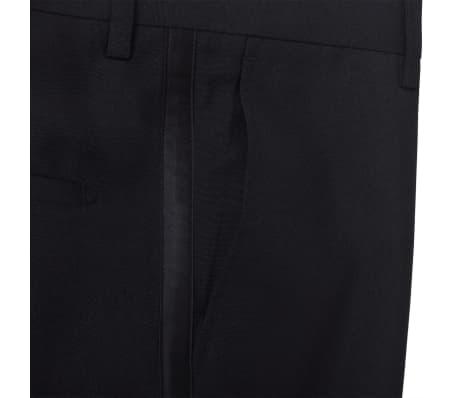 Esmoquin traje de gala de 2 piezas con corbatín para hombre talla 46 negro[5/11]