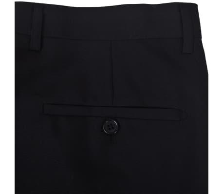 Esmoquin traje de gala de 2 piezas con corbatín para hombre talla 46 negro[6/11]