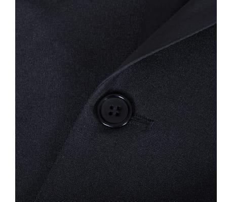 Esmoquin traje de gala de 2 piezas con corbatín para hombre talla 46 negro[8/11]