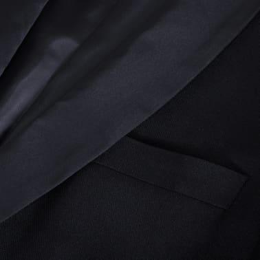 Esmoquin traje de gala de 2 piezas con corbatín para hombre talla 46 negro[9/11]