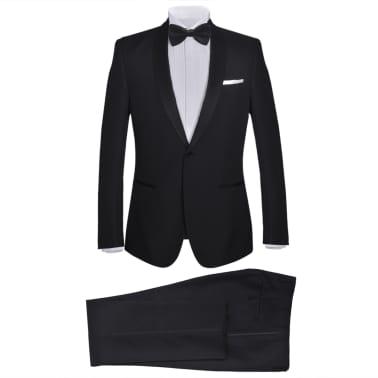 Mörk kostym herrar strl. 50 svart[1/11]