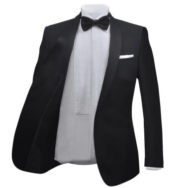 Mörk kostym herrar strl. 50 svart[3/11]