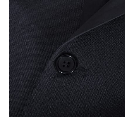 vidaXL Frac/ Costum de seară bărbătesc 2 piese mărimea 52 negru[9/11]