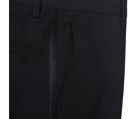 vidaXL Frac/ Costum de seară bărbătesc 2 piese mărimea 54 negru[5/11]