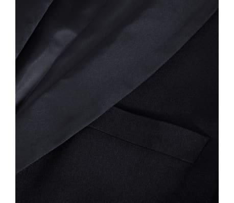 vidaXL Frac/ Costum de seară bărbătesc 2 piese mărimea 54 negru[8/11]