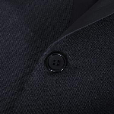 vidaXL Frac/ Costum de seară bărbătesc 2 piese mărimea 54 negru[9/11]
