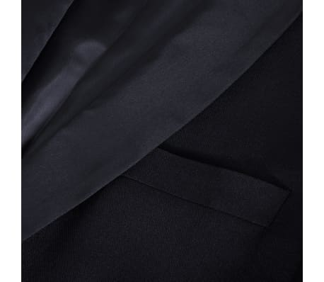 vidaXL Frac/ Costum de seară bărbătesc 2 piese mărimea 56 negru[7/10]