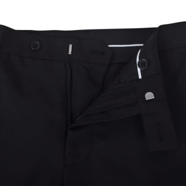 vidaXL Frac/ Costum de seară bărbătesc 2 piese mărimea 56 negru[6/10]