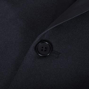 vidaXL Frac/ Costum de seară bărbătesc 2 piese mărimea 56 negru[8/10]
