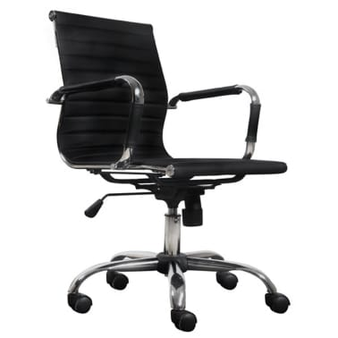 Black Leather Office Chair[2/4]