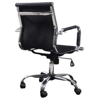 Black Leather Office Chair[3/4]