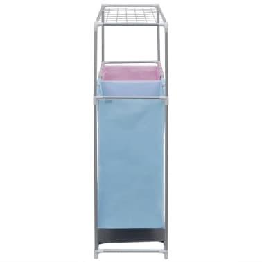 2-sektions tvättsorterare med en övre torkhylla[3/5]