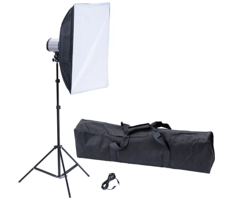 "Studio Flash Light 120 W/s with Softbox 20"" x 28"" & Tripod[1/10]"