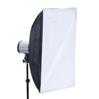 Studio Set: 3 Flash Lights, 3 Softboxes, 3 Tripods & 1 Flash Trigger[6/10]