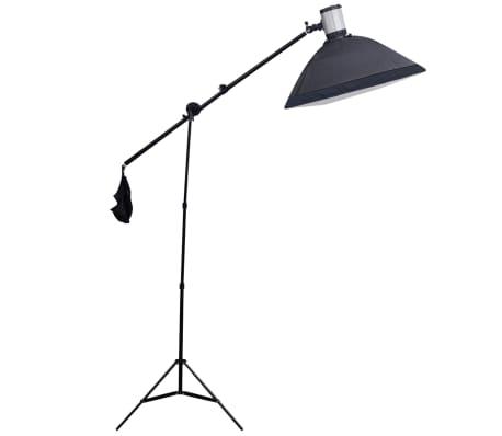 Studio Set: 3 Flash Lights, 3 Softboxes, 1 Shooting Table, etc.[6/13]