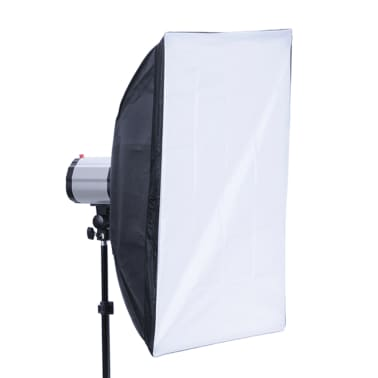 Studio Set: 3 Flash Lights, 3 Softboxes, 1 Shooting Table, etc.[7/13]