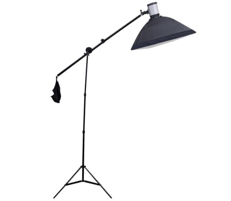 Studio Set: 3 Flash Lights, 3 Tripods, 3 Softboxes, Reflector, etc.[10/18]