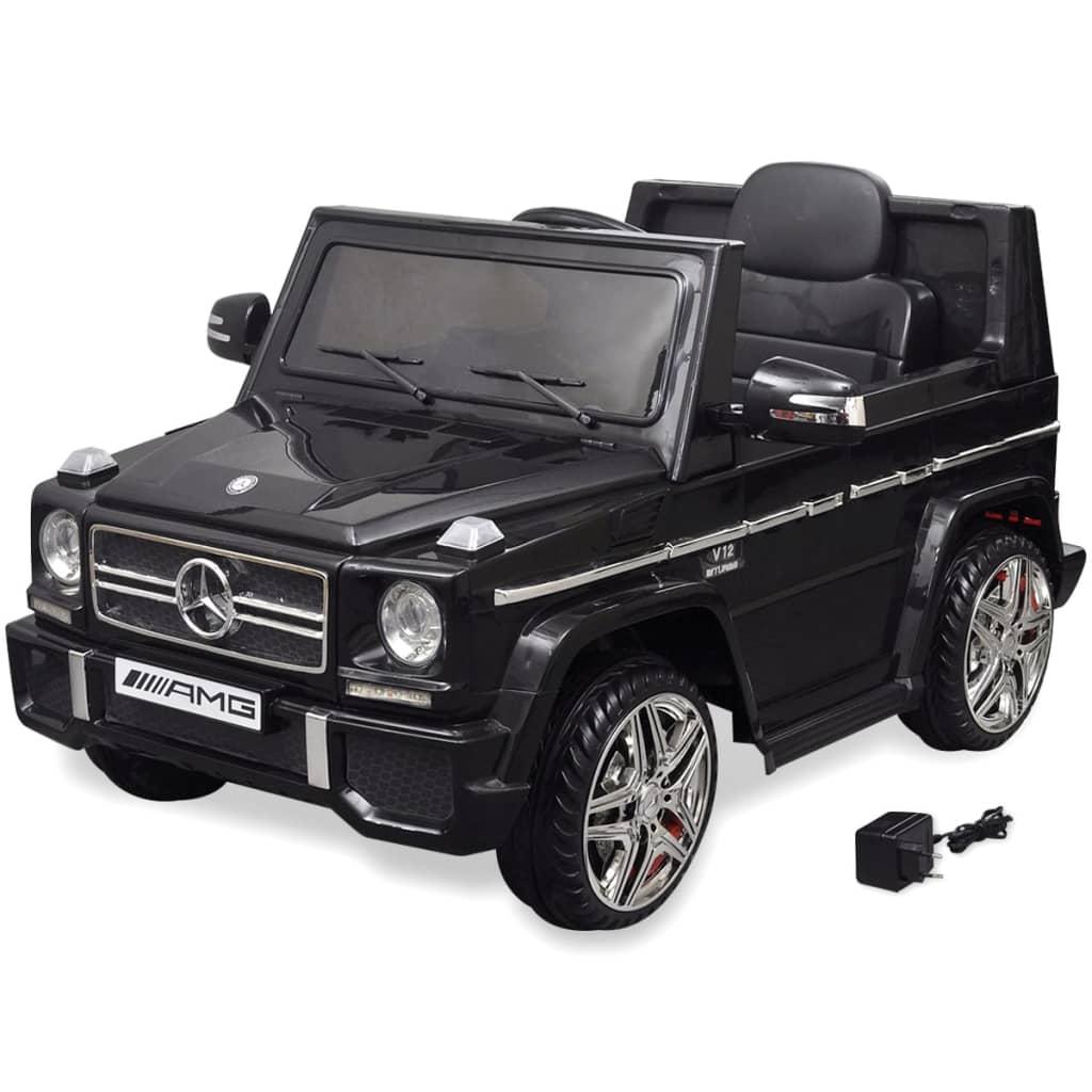 Mercedes Benz G65 elektrické autíčko SUV 2 motory černé