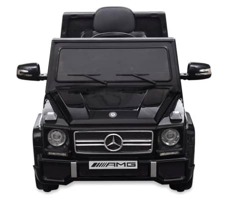 vidaXL elektriskā bērnu automašīna, Mercedes Benz G65, SUV, melna[3/8]