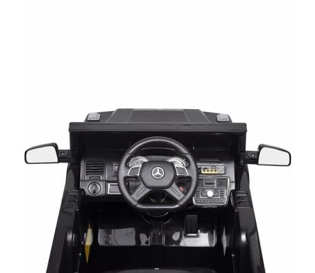 vidaXL elektriskā bērnu automašīna, Mercedes Benz G65, SUV, melna[5/8]