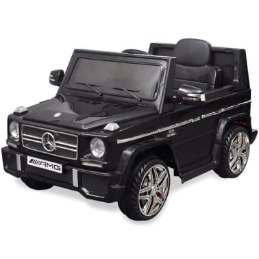 vidaXL elektriskā bērnu automašīna, Mercedes Benz G65, SUV, melna[2/8]