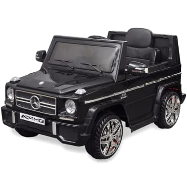 vidaXL Mercedes Benz G65 pealeistutav elektriauto 2 mootorit, must[2/8]