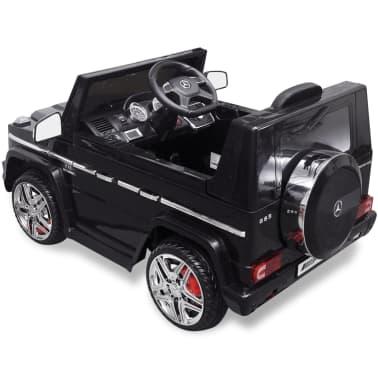 vidaXL elektriskā bērnu automašīna, Mercedes Benz G65, SUV, melna[6/8]