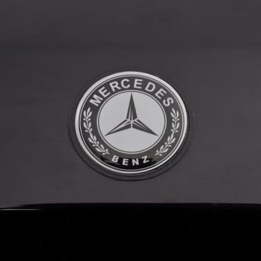 vidaXL elektriskā bērnu automašīna, Mercedes Benz G65, SUV, melna[7/8]