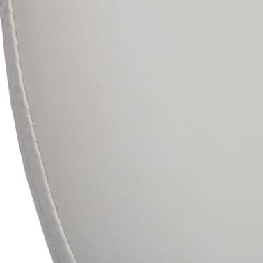 Professional Salon Spa Stool Swivel White Eclipse Design[5/5]