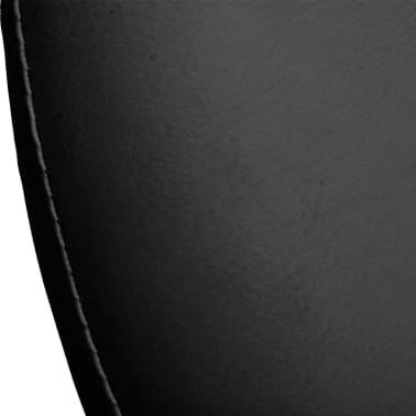 Professional Salon Spa Stool Swivel Black Eclipse Design[4/4]