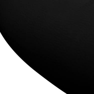 Professional Salon Spa Stool Swivel Black Curved Design[6/6]