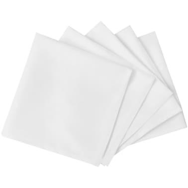 100 Stalo Servetėlių Komplektas, Baltos, 50 x 50 cm[2/4]