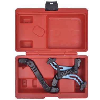 Universal Car Twin Camshaft Locking Tool Set Cam Engine Timing Sprocket Gear Kit[2/5]